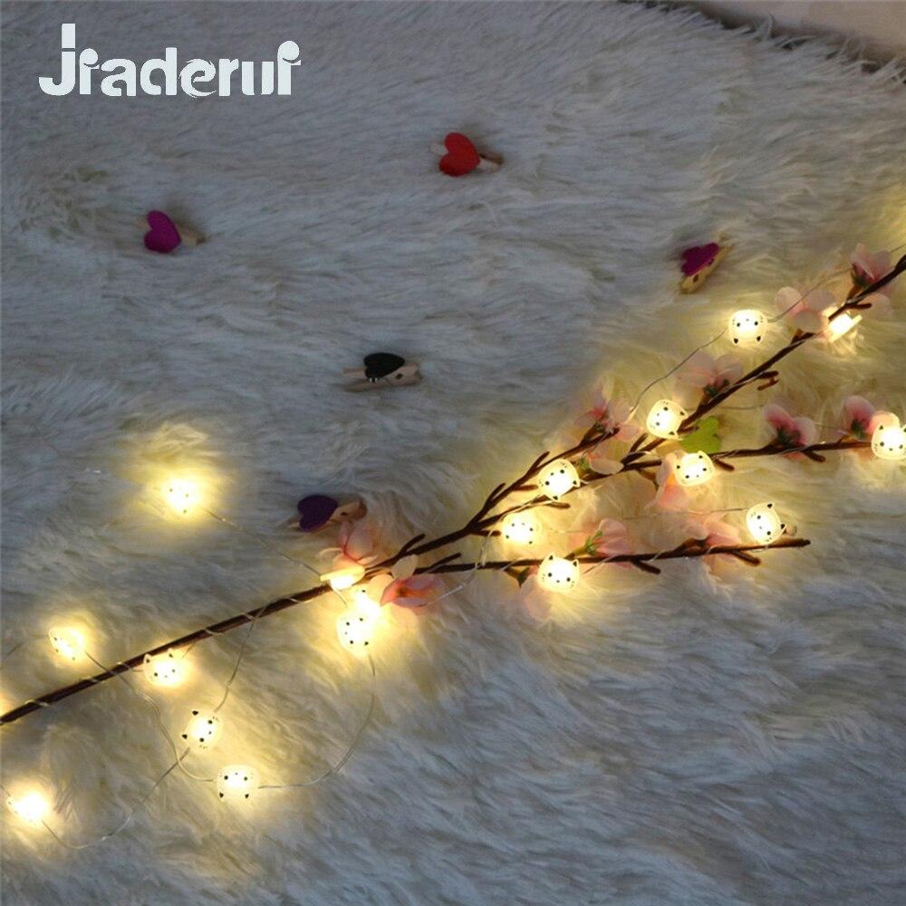 Jiaderui 2 Mt 20LED Katze Kupferdraht Lichterketten LED Lichterkette ...