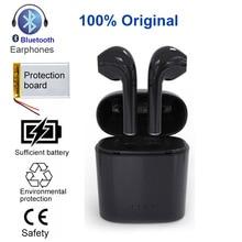 TWS i7S Erphone À Prova D' Água fone de Ouvido Bluetooth Fones De Ouvido Sem Fio Fones de Ouvido Fone de Ouvido Com Caixa de Carga mi c Xiao mi Telefone iphone IOS