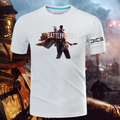 2016 juego Battlefield 1 camisetas manga corta de algodón del o-cuello de impresión patrón Tops T-shirts