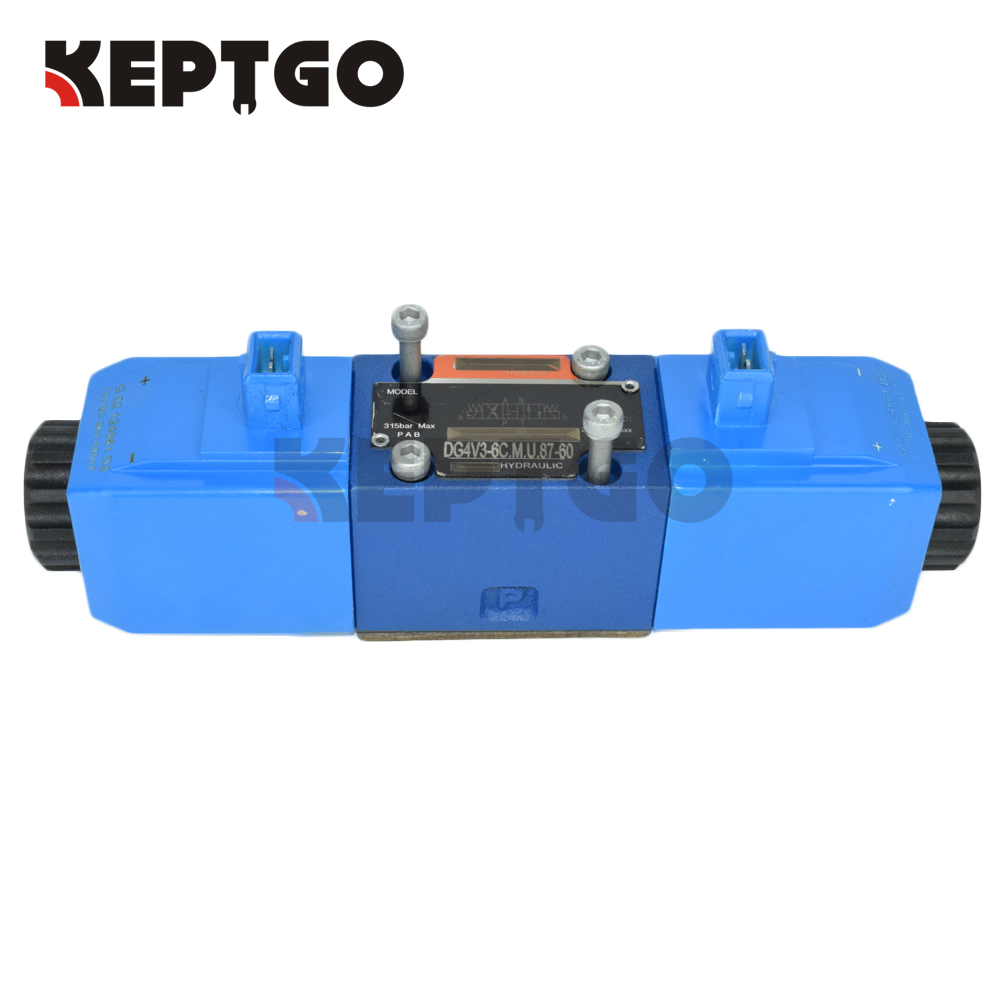 25 104700 Group Hydraulic Solenoid Directional Valve 12V For JCB 3CX 25 103000