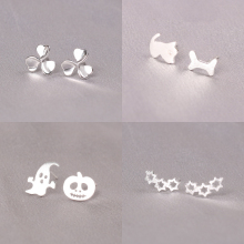 925 Sterling Silver Cute Dog Earrings For Women Casual Style Girl Earings Personality Sterling-silver-jewelry
