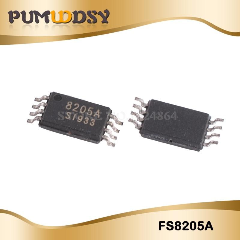 10pcs FS8205A TSSOP8 FS8205 CEG8205A CEG8205 TSSOP 8205  New And Original