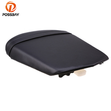 POSSBAY Motorcycle Rear Seat Cushion Cover Scooter Back Leather For Yamaha YZF R6  2003 2004 2005 Off-Road