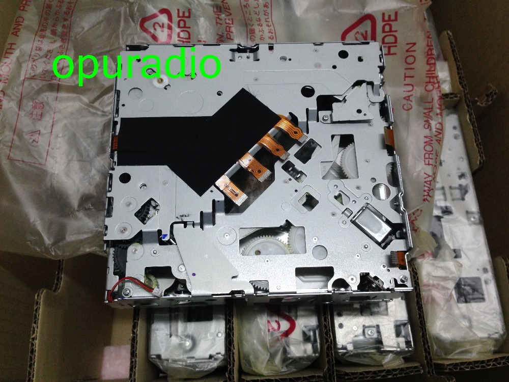 Free new Matsushita 6 CD DVD changer mechanism 19Pin for Mercedes COMAND APS NTG3 Backer Harma