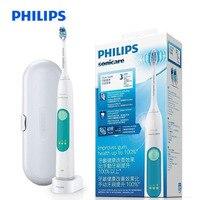 PHILIPS HX6631/01 звуковая электрическая зубная щетка перезаряжаемая зубная щетка для взрослых отбеливающая здоровая оснастка головка водостойка