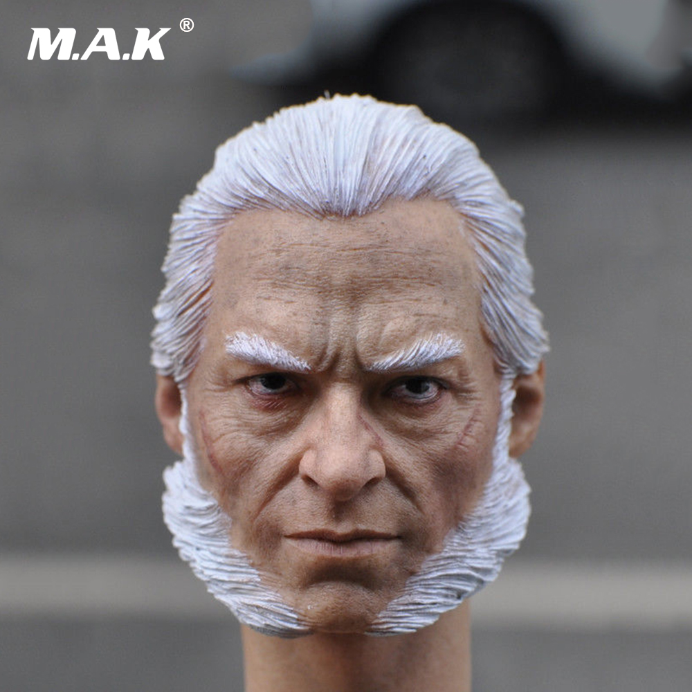 1/6 Scale Male Head Carving X-men Wolverine Old Logan Head Sculpt Model For 12 Man Action Figure Body mak custom 1 6 scale hugh jackman head sculpt wolverine male headplay model fit 12kumik body figures