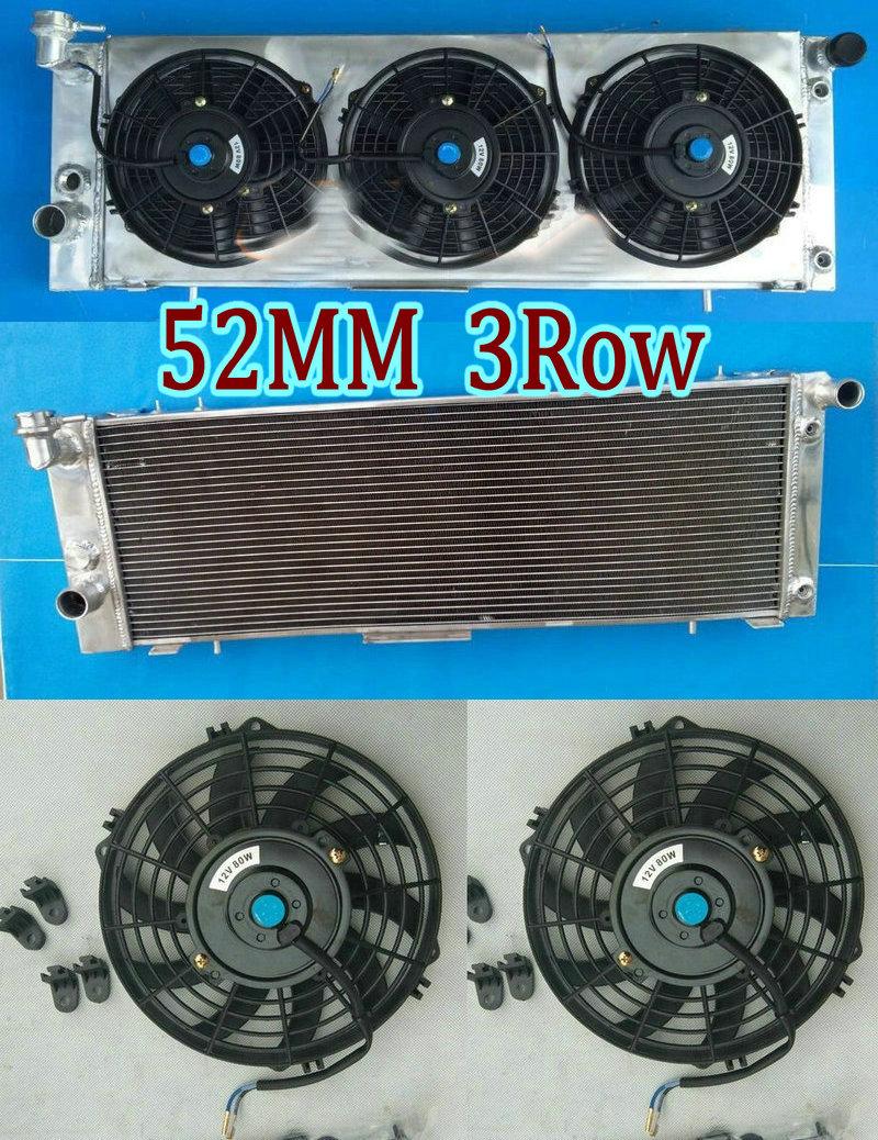 3Row Aluminium Radiator for 1994-2001 Jeep Cherokee XJ 4.0 AT//MT