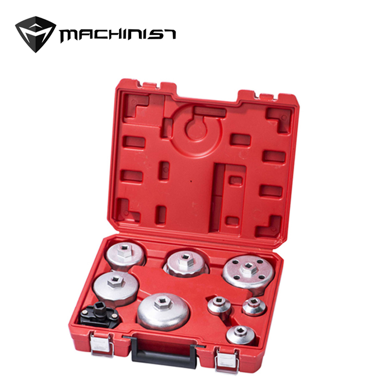 цена на 9pcs car auto repair tools Oil filter wrench set Environmental protection oil wrench set WE-A1049