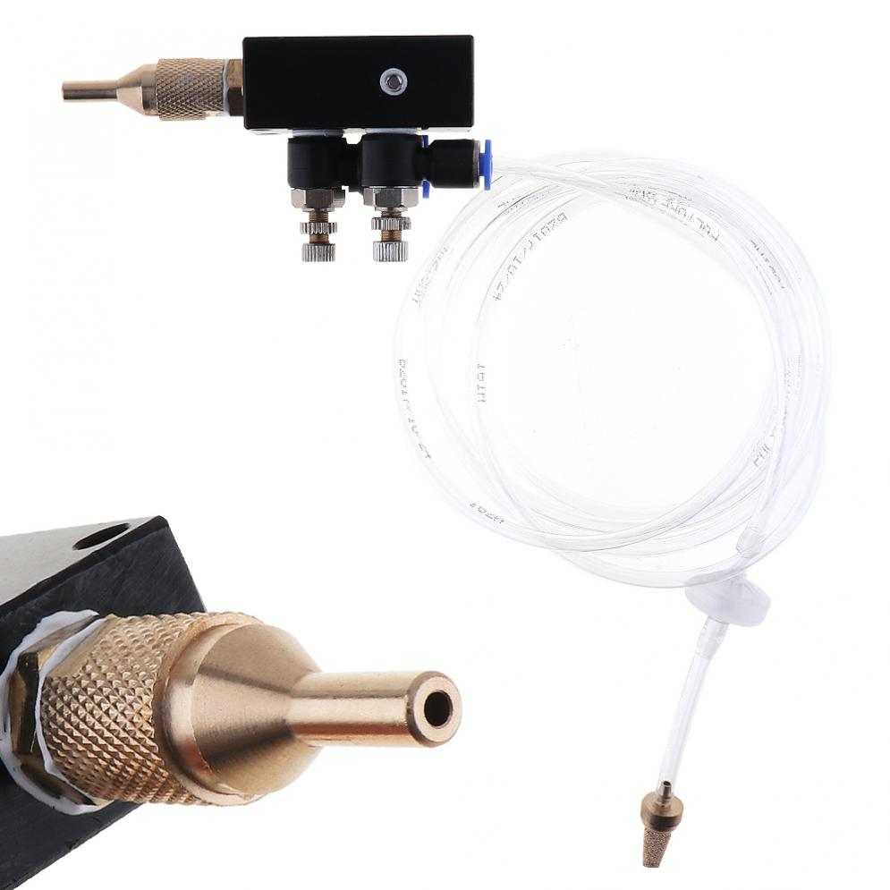 Precision Mist Lubrication Coolant Spray System Flexible Pipe Check Valve Metal Cutting Engraving Cooling Machine