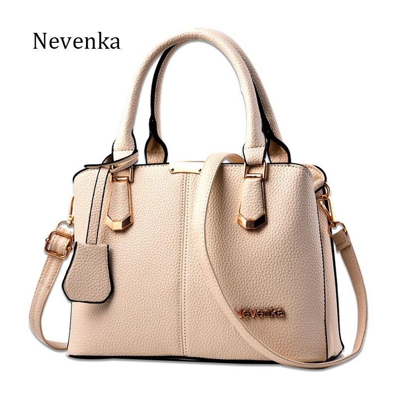Nevenka Women Bag Lady Bolso DEL Estilo OL Bolsos de Hombro Ocasionales cremalle