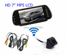 Wireless 12V Car Rear View Backup Reverse Camera Kit+ HD 7″ TFT LCD Monitor For Truck /Bus/ Car