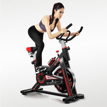 Indoor Cycling Bike Foldable Weight loss Moveable Intelligent Fitness Equipment  Indoor Sports Bicycle