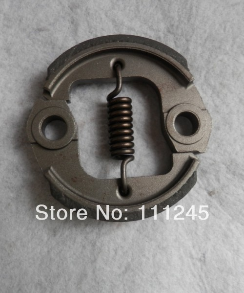 CLUTCH OD 76MM HT 14MM POWDER METALLURGY FOR MITSUBISHI TU33 TU43 FREE POSTAGE CHEAP 2 SHOES + SPRING  BRUSHCUTTER  PARTS clutch ay od 76mm aluminum for honda gx31 gx35 mitsubishi tb50 free shipping shoe spring repl oem p n 22000 zm5 003