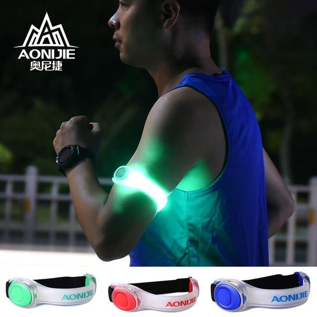 AONIJIE E4042 Night Running LED Lamp Armband Reflective Bracelet