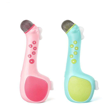 Toys Hobbies - Learning  - Children Baby Wireless Bluetooth Microphone Karaoke With Speaker For Singing Toy Music Playing Educational Toys  Christmas Gifts