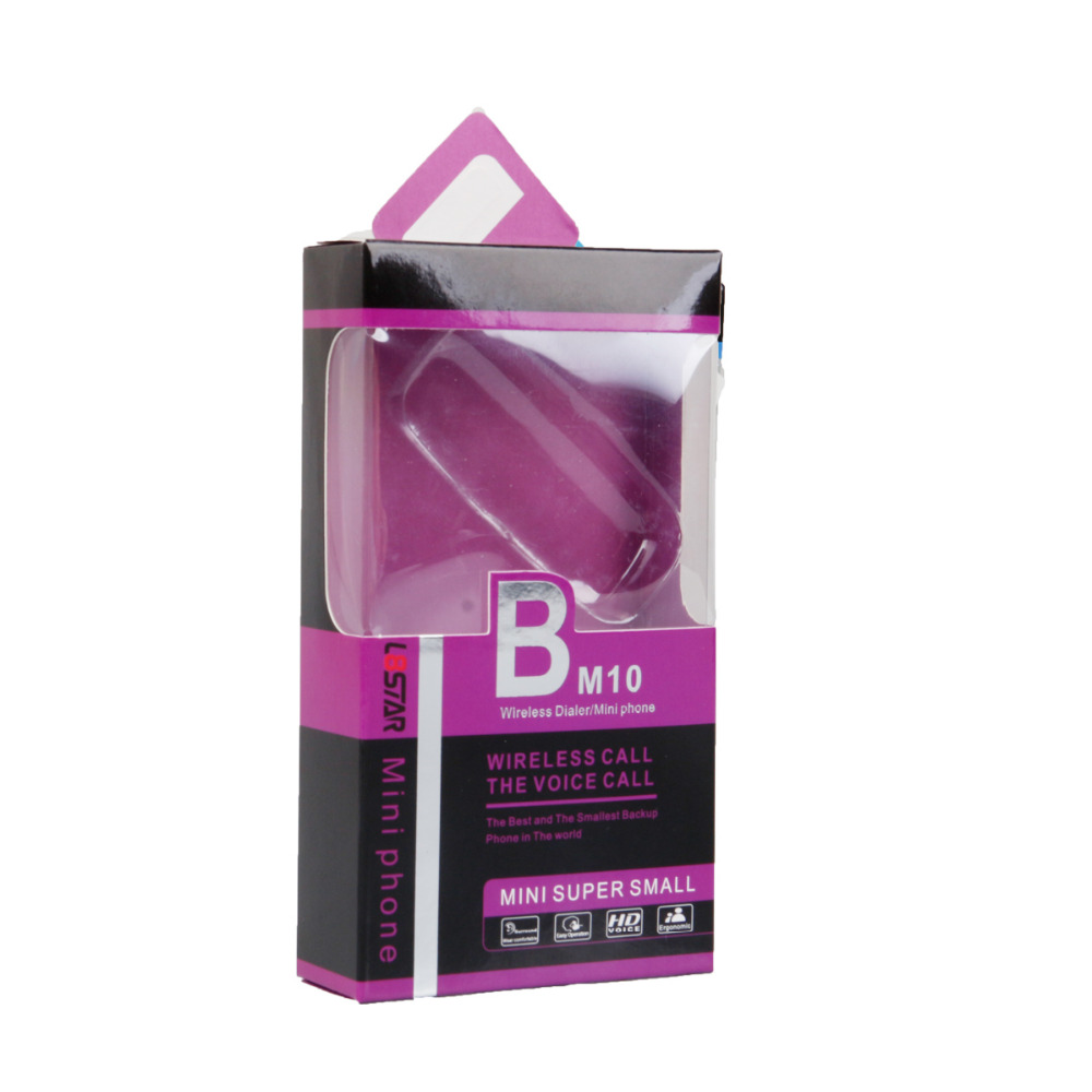 Mobile phone L8star BM10 Phone shape mini SIM card earphone wireless Hands-free calling Answer the call VS BM70 BM50 mobile phone