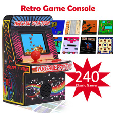 Mini Handheld Game Retro Console Players Portable 8-Bit Machine BL-883 Consoles for Child Kids 240 Classic Games