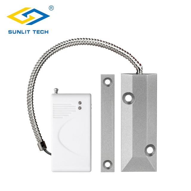 Wireless Rolling Door Sensor Garage Gates Magnetic Detector Roller