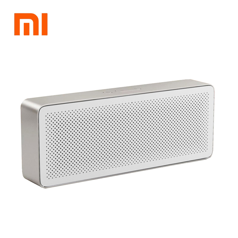 Original Xiaomi Mi Bluetooth Speaker Square Box 2 Stereo Portable Bluetooth 4.2 High Definition Sound Quality 10h Play Music AUX mrice campers 2 0 bluetooth speaker portable music box