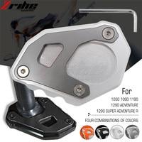 For KTM 1290 1090 1190 Adv Orange Accessories Motorcycle CNC Aluminum Side Stand Enlarge For KTM