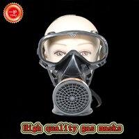 جهاز تنفس عالي الجودة قناع واقي من الغاز رياح سيامي وأتربة قناع واقٍ ضد اللوحة المبيدات تنفس الوجه الكامل
