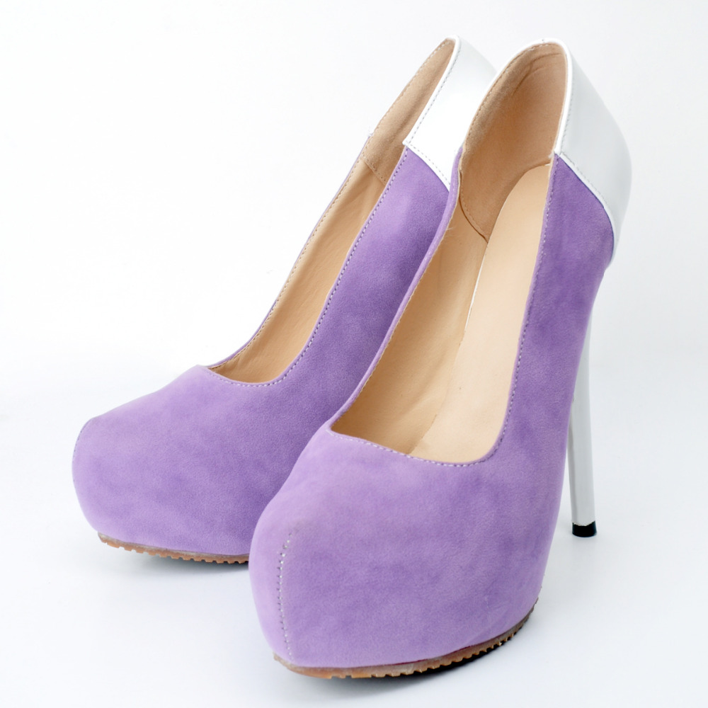 ФОТО Women shoes Party  Woman Shoes Round Toe Stiletto Heels Platform Pumps High Heels for teens shoes  EU34-45