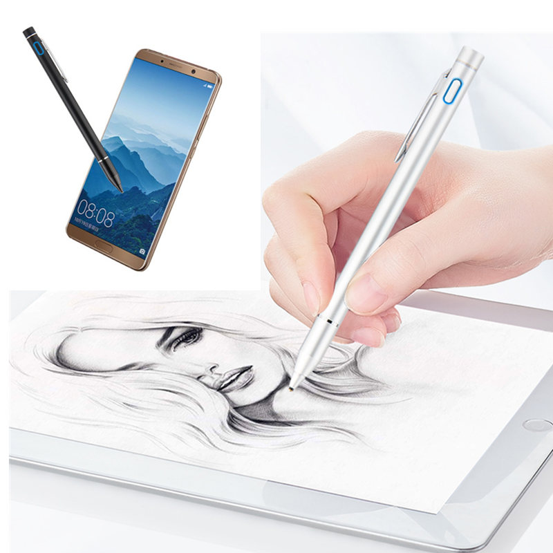 Active Capacitive Touch Screen Pen Stylus For Huawei MediaPad M5 8.4 10.8 10 Pro Lite CMR-AL09 SHT-W09 Tablet NIB 1.45mm Pencil