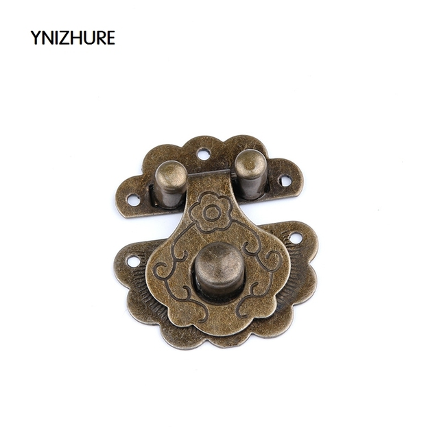 2018 Rushed Promotion Jewelry Box Latches 20pcs 36 40mm Antique