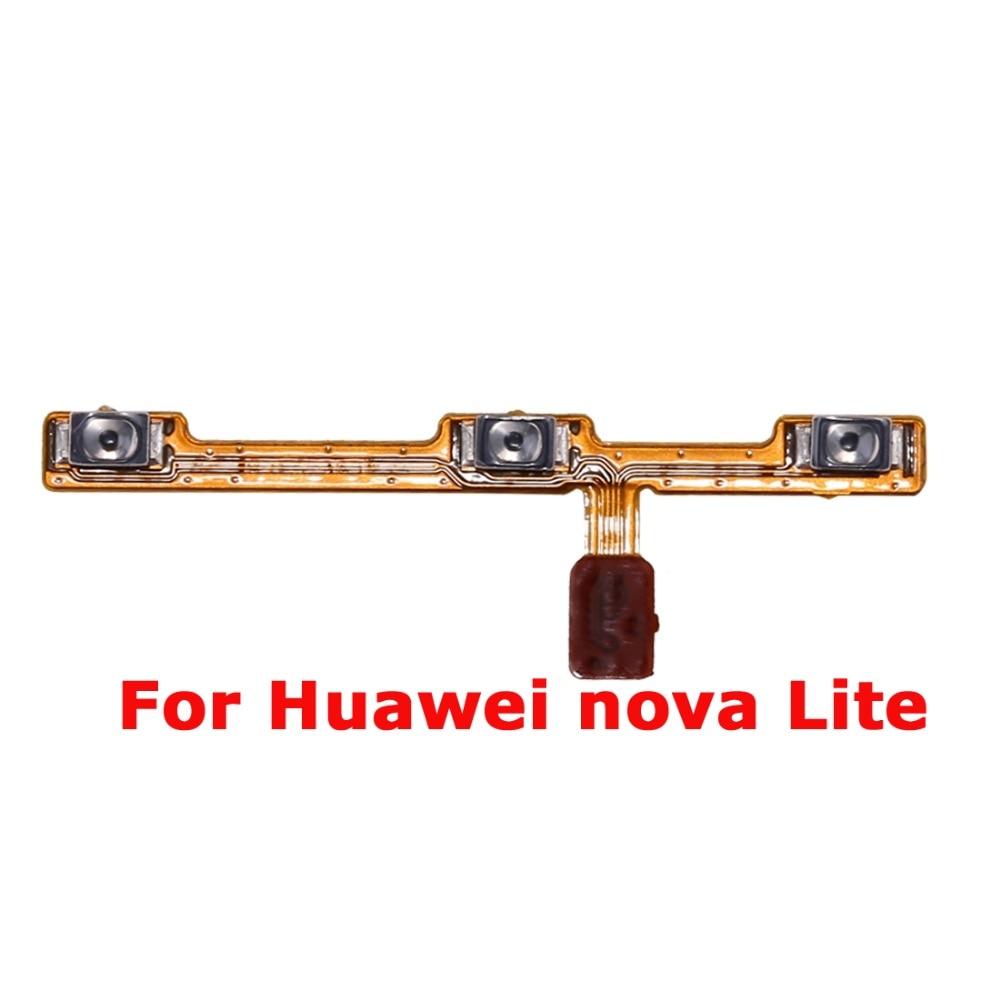 For HW Nova Lite Power On Off Button Flex Cable Mute Volume Switch Flex HW Nova Lite Replacement Part