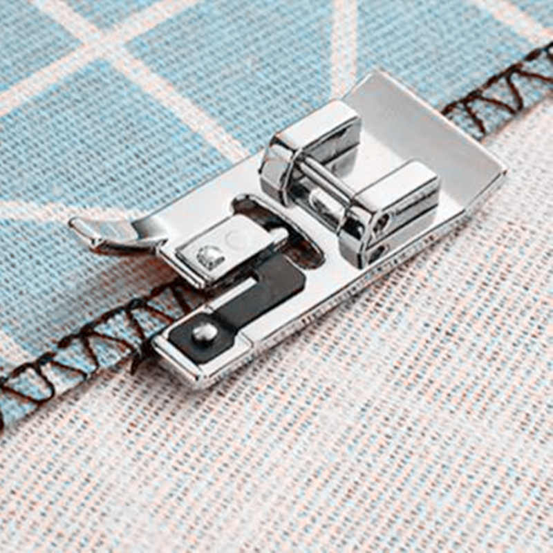 Accessori per macchine da cucire Overlock piedino verticale, coperto, per Brother,Janome Snap on foot # SA135 5BB5256