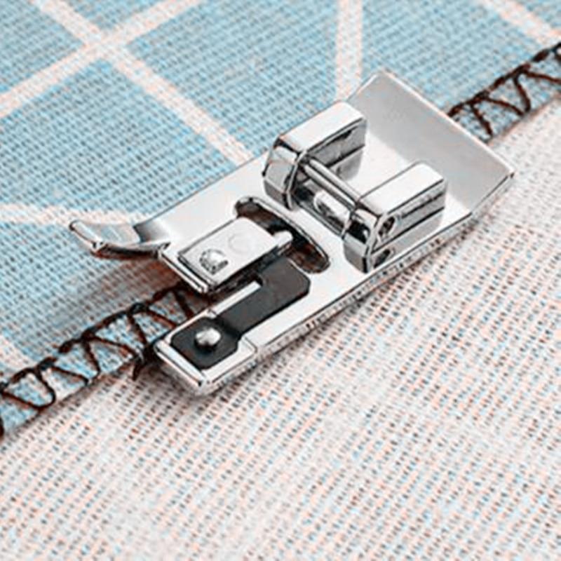 Швейные машины аксессуары оверлок вертикальные прижимная лапка, Overcast, для брата, Janome для присоединения к ножке # SA135 5BB5256