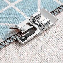 Accesorios para máquinas de coser Overlock Vertical Pie de prensatelas cielo cubierto para Hermano maquinas Snap en pie # SA135 5BB5256
