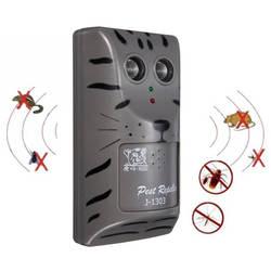 Практичный дизайн бытовой двойной Электронный ультразвуковой для борьбы с вредителями Мышь насекомых Отпугиватель грызунов инструмент