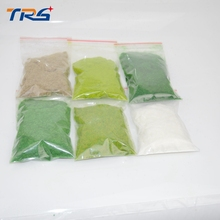 Teraysun Mixed six colors 300G Grass Powder Flock Adhesive Nylon Model Building Material