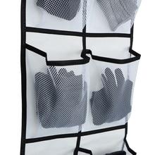 Rack Storage-Box Mesh-Pockets Hanging-Bags 12 Tidy Large