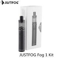 5pcs Lot Original Justfog Fog 1 Electronic Cigarette Kit 1500mAh Battery Stainless Steel Start Kit For