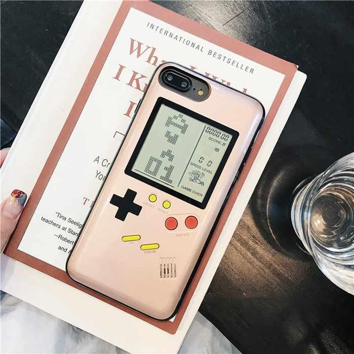 IML Retro Gameboy Tetris Phone Cases For iphone 6 6s 7 8