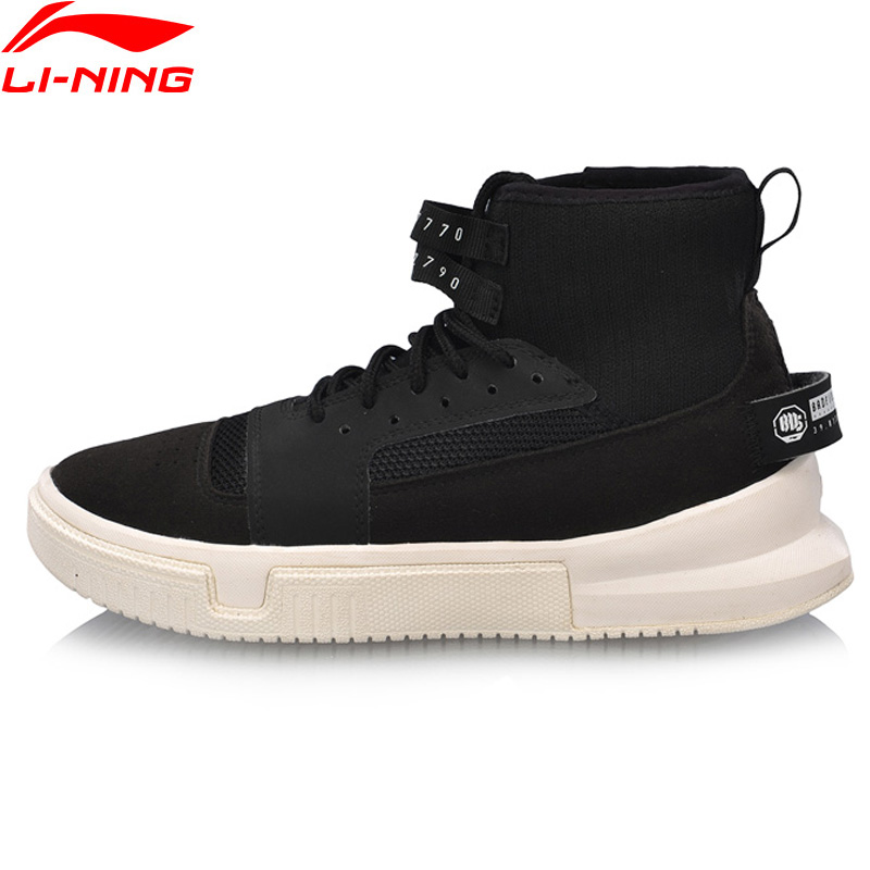Li-Ning Women CALLOUT GS Basketball Culture Shoes Wearable Anti-Slippery LiNing Comfort Sport Shoes Sneakers AGBN012 XYL211 цена