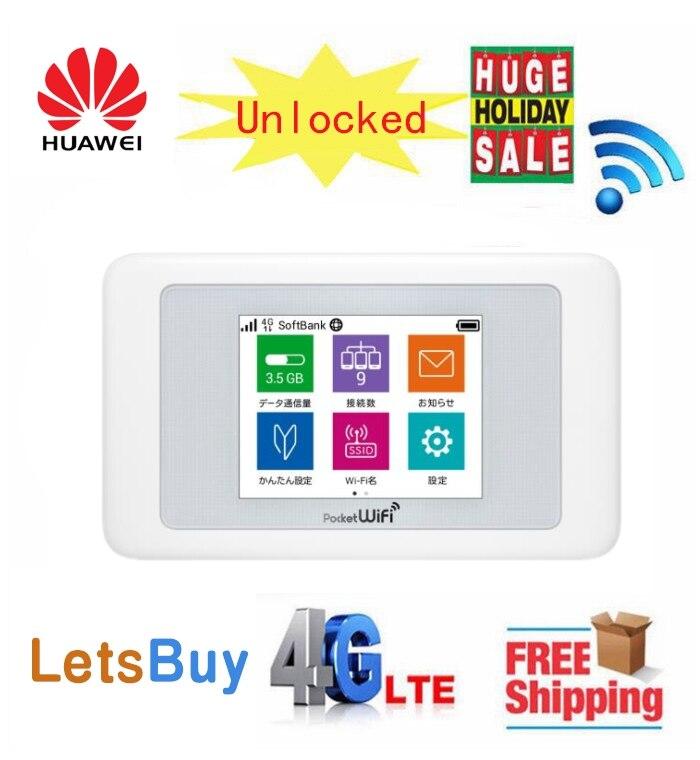 Huawei Pocket WiFi 602HW 612Mbps Mobile Data Communication Terminal