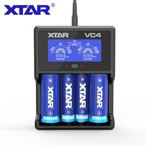 Image 4 - Зарядное устройство для аккумуляторов XTAR VC4S QC3.0, зарядное устройство для аккумуляторов AA AAA 20700 21700 18650 VC4S VS XTAR VC4