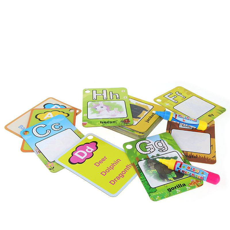 Water-Drawing-Card-26-English-Learning-Card-Magic-with-2-Pen-Letter-Card-Painting-Board-Educational-Toys-for-Kids-4