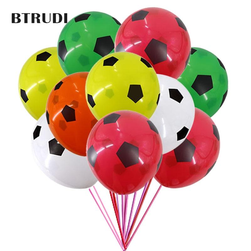 BTRUDI Hot Vanzare 30 / 50pcs 12 inch Fotbal imprimat latex balon - Produse pentru sărbători și petreceri