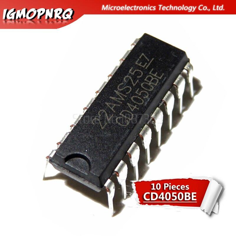 10pcs CD4050BE CD4050 DIP New Original