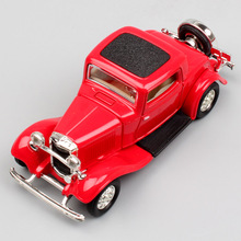 1:43 Scale small the Ford Model B 18 classic three window Deluxe Coupe metal diecast modeling auto car gift toy 1932 for kid boy