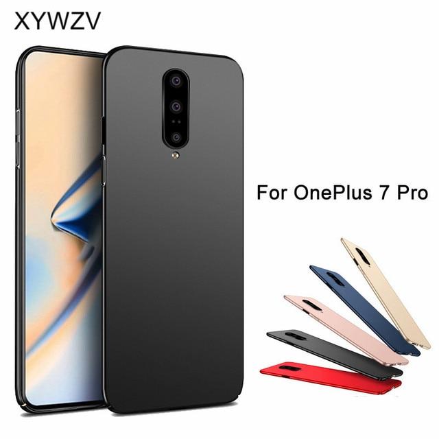 Voor Oneplus 7 Pro Case Silm Luxe Ultradunne Smooth Hard PC Telefoon Case Voor Oneplus 7 Pro Terug cover Voor Oneplus 7 Pro Fundas