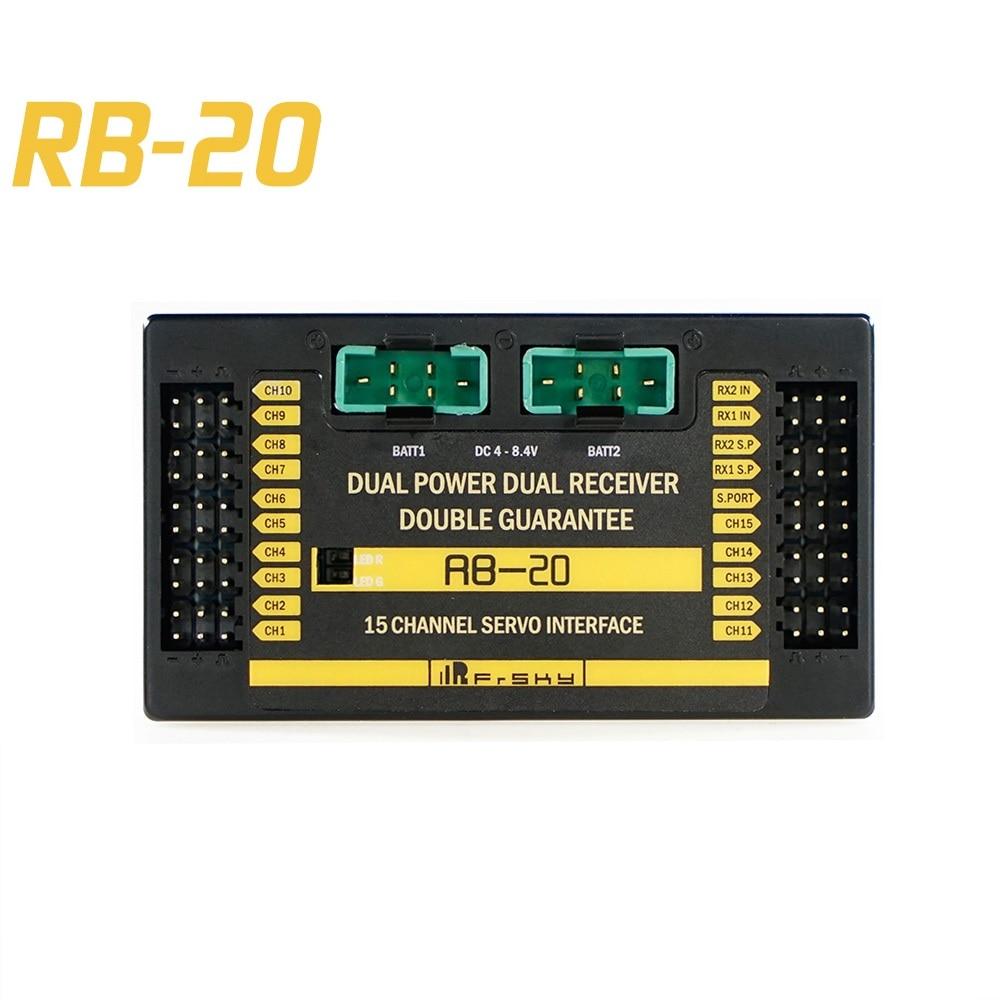 Frsky redundancy 버스 rb20 원격 측정 자동 스위치 및 최대 전류 출력 최대 10a-에서부품 & 액세서리부터 완구 & 취미 의  그룹 1