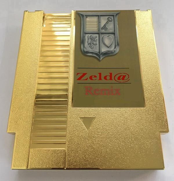 В ZELD @ золотой REMIX 7 в 1 патрон игры для NES консоли