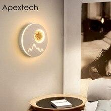 Creative LED Wall Lamp Bedroom Bedside Lamp Night Light Corridor lamp Modern Nordic Decoration Lighting все цены