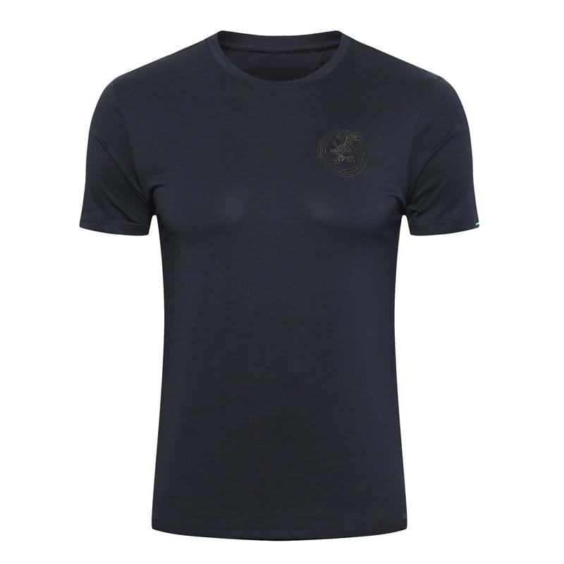 Erkek Kıyafeti'ten Tişörtler'de Milyarder T shirt erkek 2019 Yeni Merserize pamuk Moda İngiltere nakış Ince yüksek kaliteli Yuvarlak boyun M 4XL ücretsiz kargo'da  Grup 1