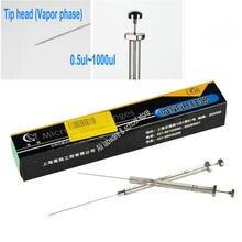 1 шт. lab 0.5ul до 1000ul микролитровые шприцы микро-Инжектор Шприц с наконечником для фазы пара